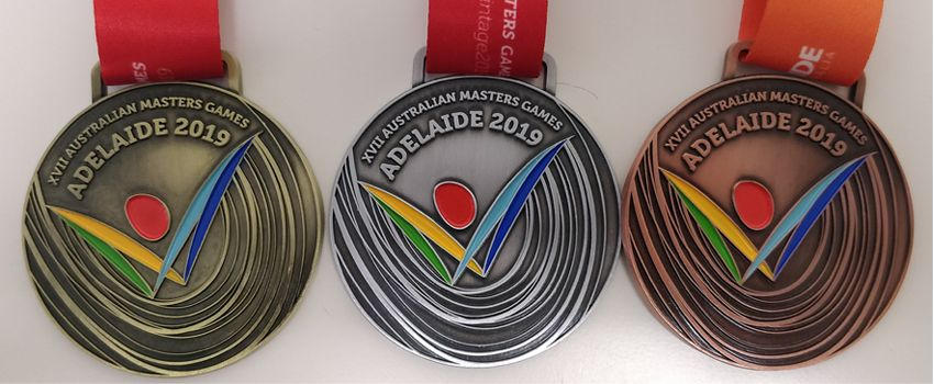 17th Australian Masters Games medals unveiled