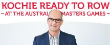 Open news item - Kochie ready to row at #17AMG