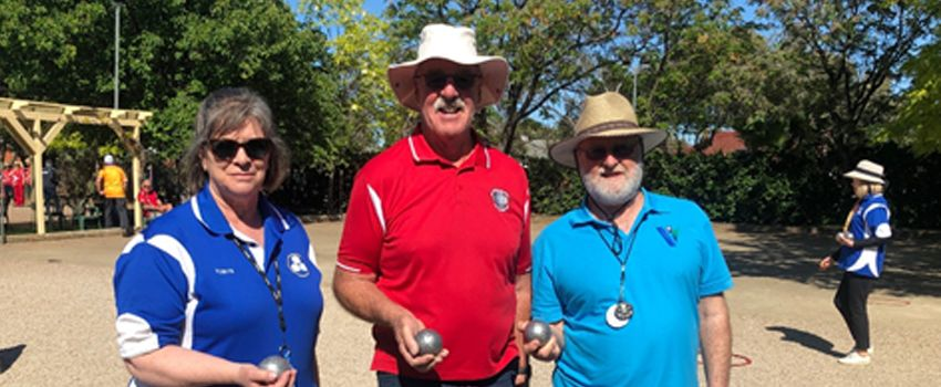 Petanque competitors gather from all over for the Australian Masters Games
