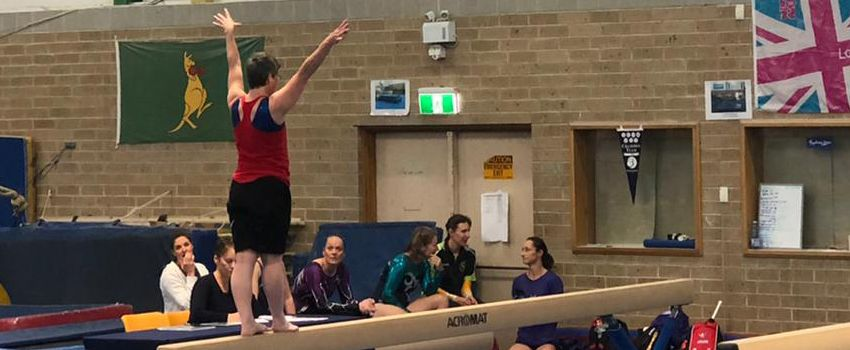 Composure is key for Victorian gymnast Tabitha
